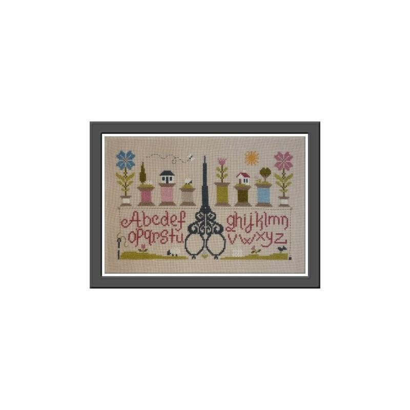 Ciseaux et bobines - Jardin privé
