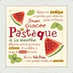 La soupe glacée de pastèque à la menthe - Lilipoints