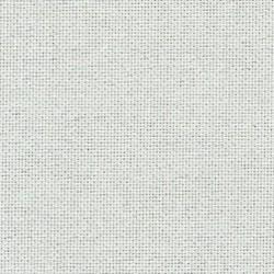 Lugana Zweigart blanc pailleté 10 fils/cm largeur 140cm