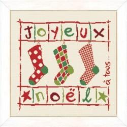 Les chaussettes de Noël - Lilipoints
