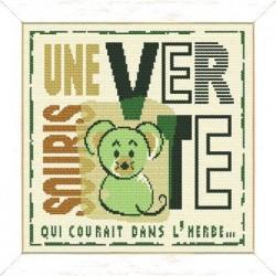 Une souris verte - Lilipoints