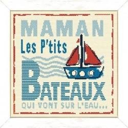 Maman les petits bateaux - Lilipoints