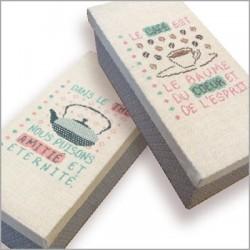 Les boîtes à  thé-café - Lilipoints