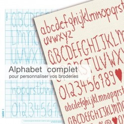 Alphabet à broder 2 - Lilipoints