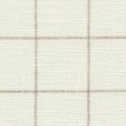 Lin Zweigart Belfast Carré 12,6fils/cm - 50x70cm - blanc à carreaux lin