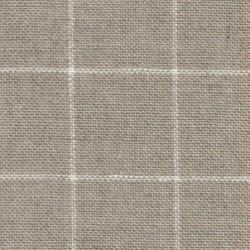 Lin Zweigart Belfast  Carré 12,6fils/cm - 35x45cm - lin à carreaux blancs