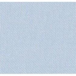 Lugana Zweigart 10 fils/cm - laize 140cm - bleu lavande