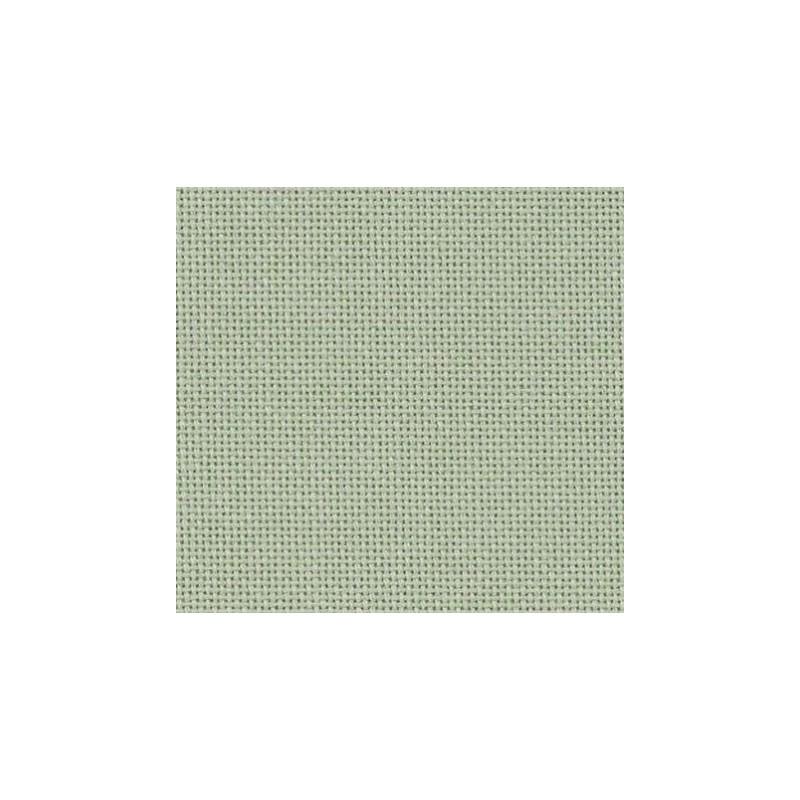 Lugana Zweigart 10 fils/cm - laize 140cm - vert d'eau