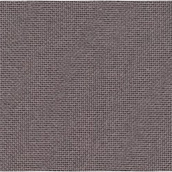 Lugana Zweigart 10 fils/cm - laize 140cm - gris foncé