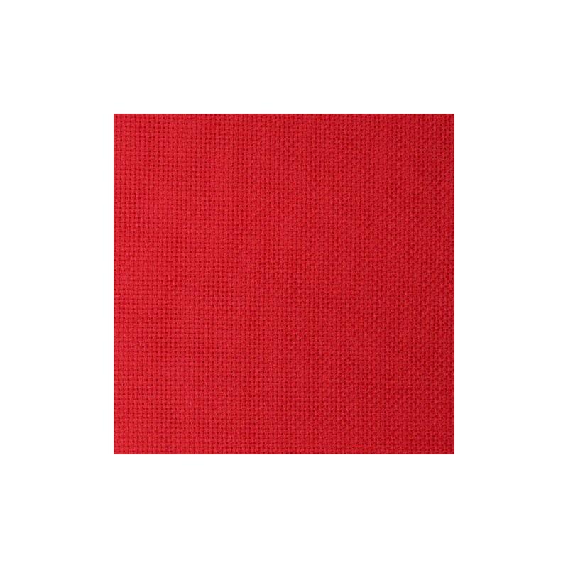 Aïda Zweigart 8pts/cm - largeur 110cm - rouge