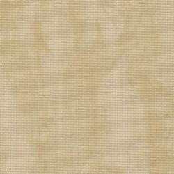 Toile Aïda Zweigart 8pts/cm - largeur 110cm - sable marbré