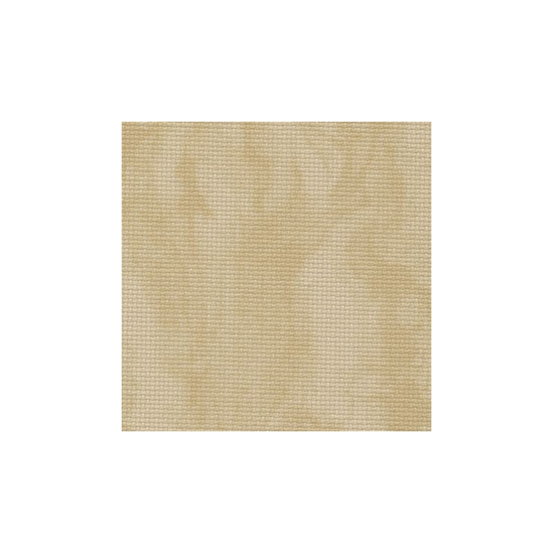 Aïda Zweigart 8pts/cm - largeur 110cm - sable marbré