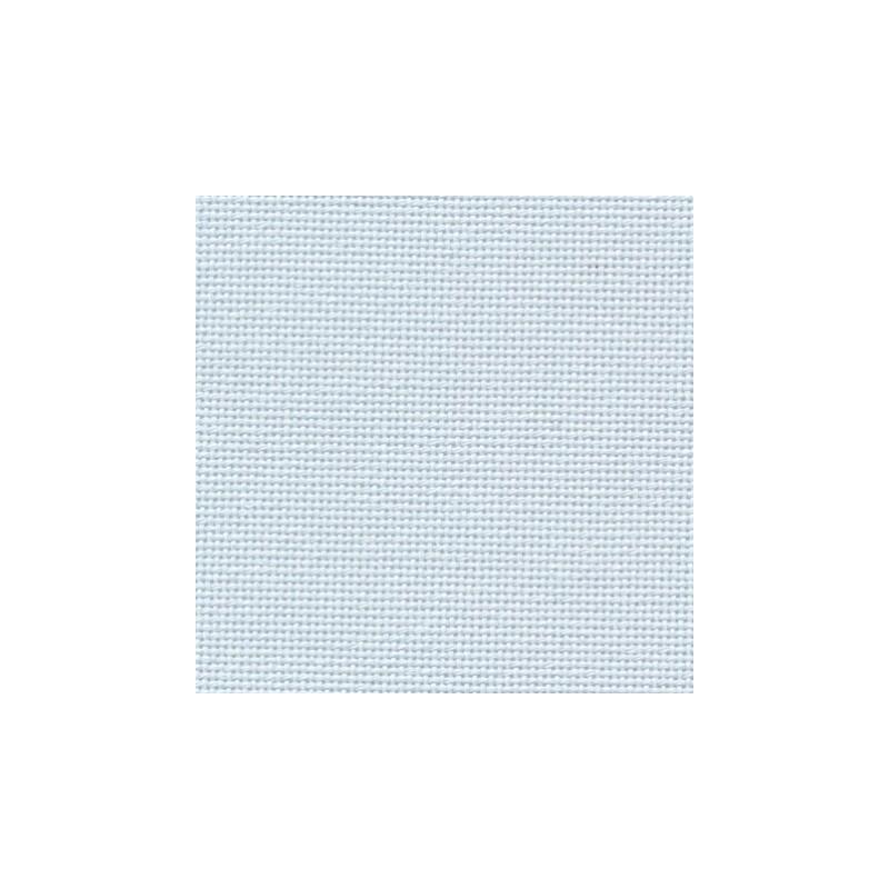 Toile Bellana Zweigart 8fils/cm 50x70cm - bleu pâle