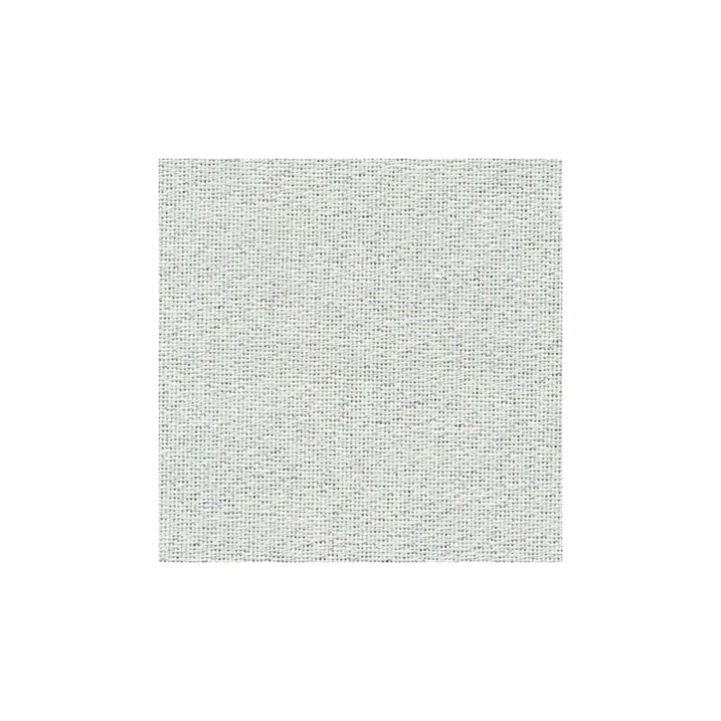 Toile Murano Zweigart 12,6fils/cm - laize 140 cm - blanc pailleté irisé