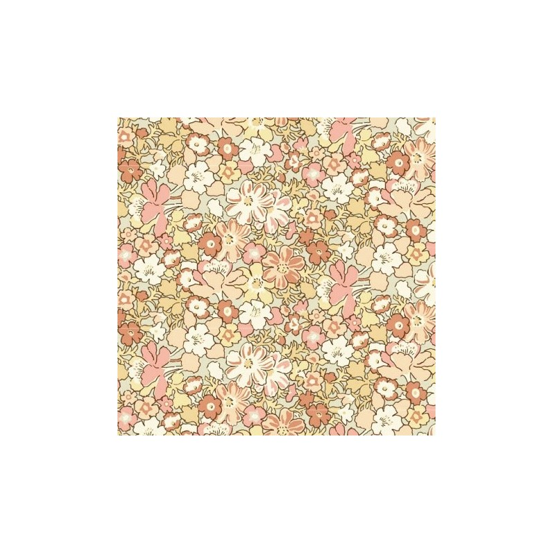 Tissu Lytton Life Style - laize 112cm - Liberty