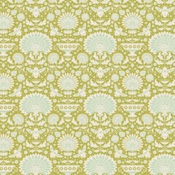 Garden Bees Green - au mètre - laize 110cm - tissu Tilda