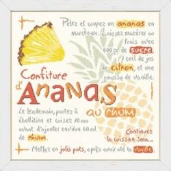 La confiture d'ananas au rhum - Lilipoints