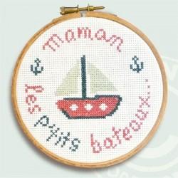 Maman les p'tits bateaux - Mini-kit pour enfant - Lilipoints
