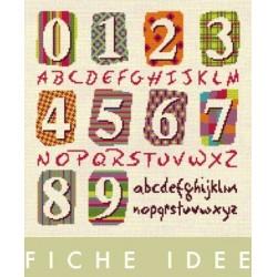 Fiche idées Chiffres et Alphabet - Lilipoints