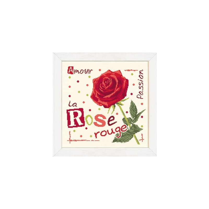 La rose rouge - Lilipoints