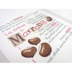La crème de marrons - Lilipoints - pack complet