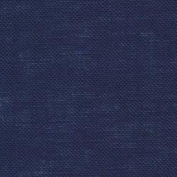 Lin Zweigart Belfast 12,6 fils/cm bleu marine largeur 140cm