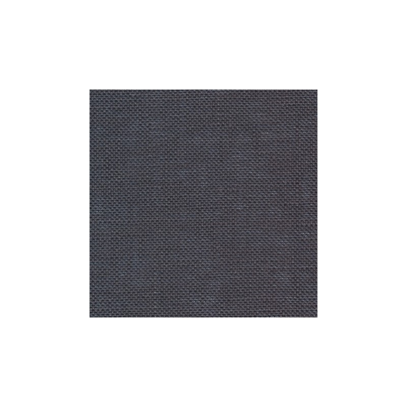 Lin Zweigart Belfast 12,6 fils/cm gris anthracite largeur 140cm