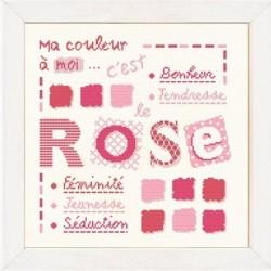 Rose - Lilipoints - Semi-kit diagramme+fils