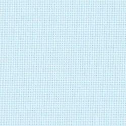 Lugana Zweigart 10 fils/cm - laize 140cm - bleu ciel clair