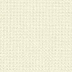 Toile Aïda Zweigart 7pts/cm - largeur 110cm - blanc cassé