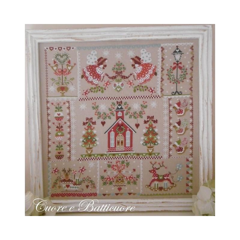 Christmas in quilt - Cuore e Batticuore