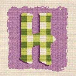 Initiale H - Lilipoints