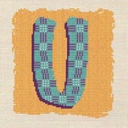 Initiale U - Lilipoints