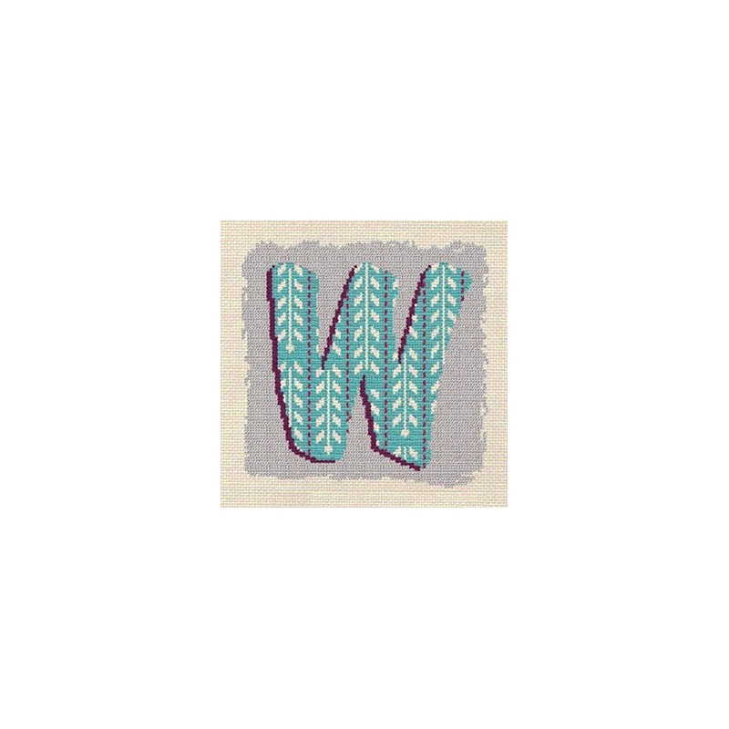 Initiale W - Lilipoints