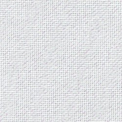 Aïda Zweigart 7,0pts/cm 48x55cm - blanc pailleté irisé
