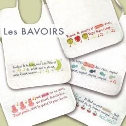 Les bavoirs - Lilipoints - pack complet