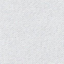 Toile Aïda Zweigart 7fils/cm - largeur 110cm - blanc pailleté irisé