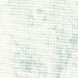Toile Murano Zweigart 12,6fils/cm - laize 140 cm - blanc marbré gris