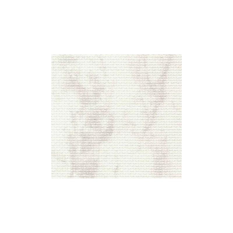 Aïda Zweigart 7pts/cm - largeur 110cm - blanc marbré gris