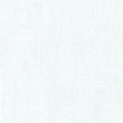 Lin Zweigart Dublin 10fils/cm - largeur 140cm - blanc