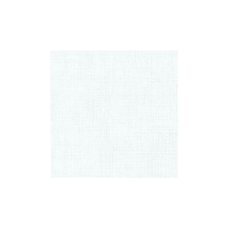 Lin Zweigart Dublin - 10fils/cm -  largeur 140cm - blanc