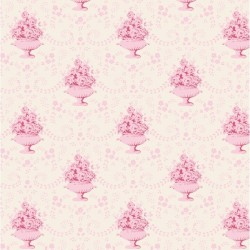 Venice Pink - coupon 50x110cm - tissu Tilda