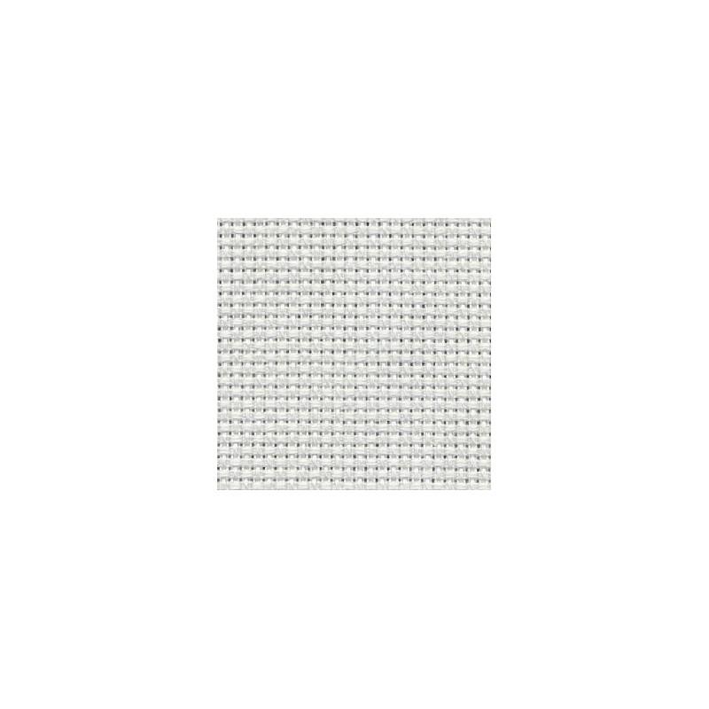 Aïda Country Zweigart 2,8pts/cm - 60x80cm - blanc irisé