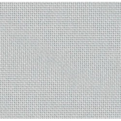 Lugana Zweigart 10 fils/cm - laize 140cm - gris souris