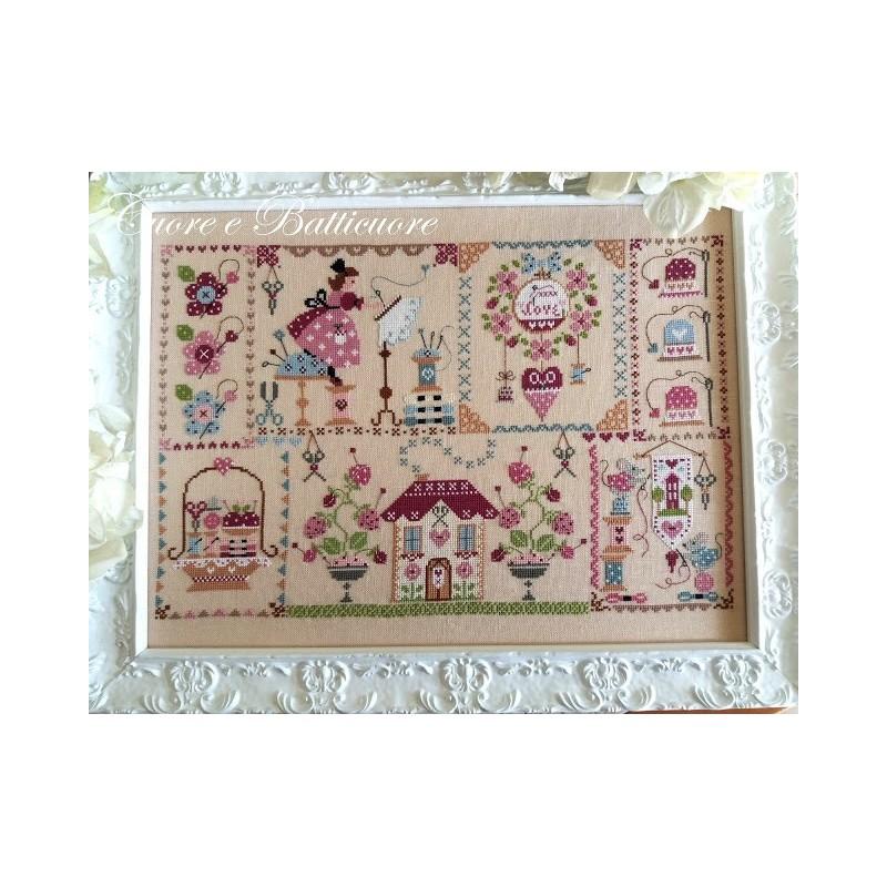 Stitching in Quilt - Cuore e Batticuore