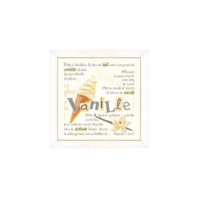 La glace à la vanille - Lilipoints