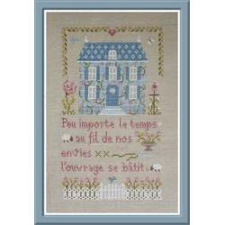 La maison bleue - Jardin privé