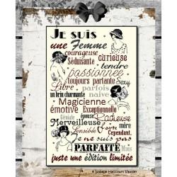 Je suis une Femme - Isabelle Haccourt Vautier