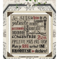 Je suis une brodeuse ! - Isabelle Haccourt Vautier
