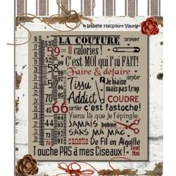 La couture - Isabelle Haccourt Vautier